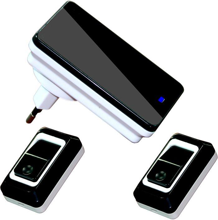 Plug-in Wireless Door Bell Waterproof Push Button Doorbell for Home with 36 Chimes 2 Ourdoor Transmitter + 1 Indoor Receiver♦️ B E S T Online Marketplace - SaleVenue ♦️👉🏿 http://www.salevenue.co.uk/products/plug-in-wireless-door-bell-waterproof-push-button-doorbell-for-home-with-36-chimes-2-ourdoor-transmitter-1-indoor-receiver/ US $14.38