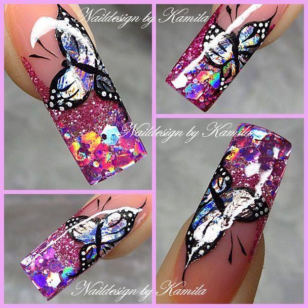 Nails, Nails Magic, Nails Design, Pink Nails, Kamila Achatz, Hot Nails
