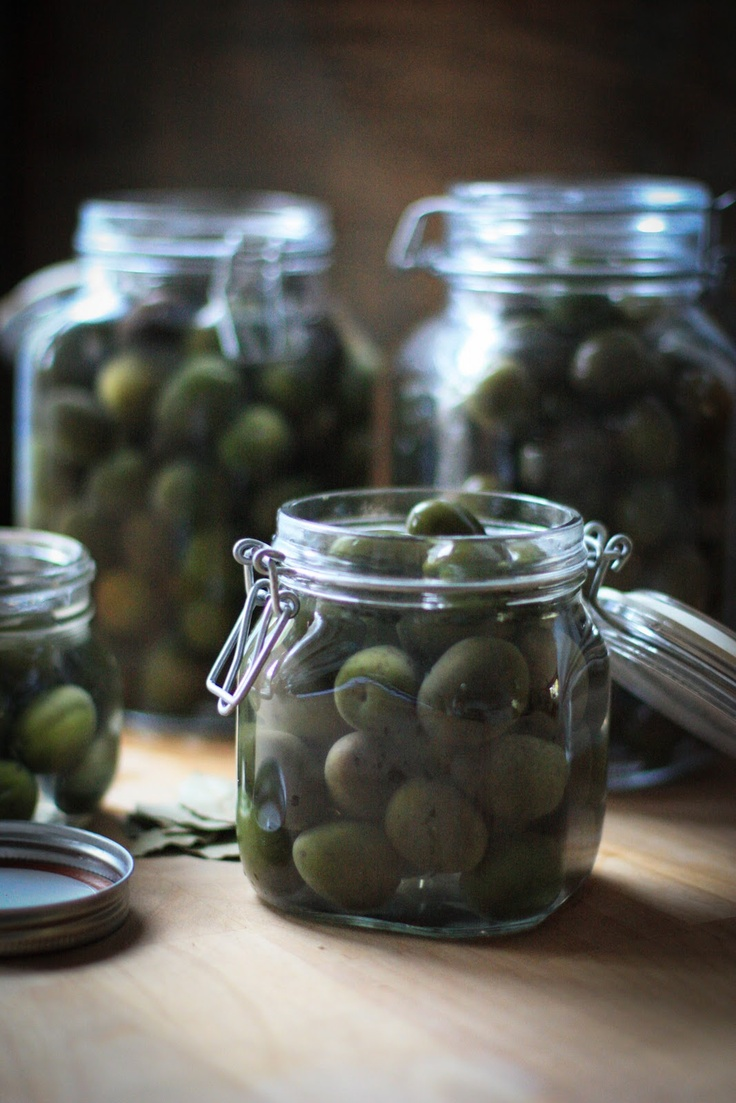 How to Cure Olives