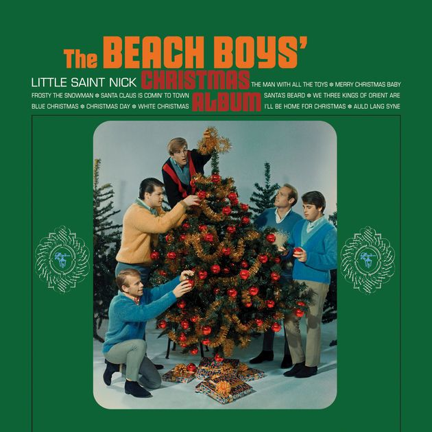 The Beach Boys Christmas Album 1964 Capitol Records The Beach Boys Beach Boy Brian Wilson