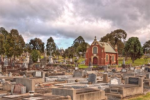 Eastern Cemetery Geelong, Australia
