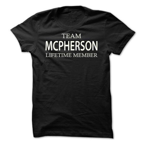 Team Mcpherson - #plaid shirt #tshirt headband. GUARANTEE => https://www.sunfrog.com/Names/Team-Mcpherson-tfnkw.html?68278