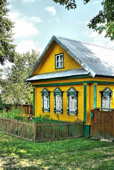 этого как покрасить деревенский дом картинки химба может