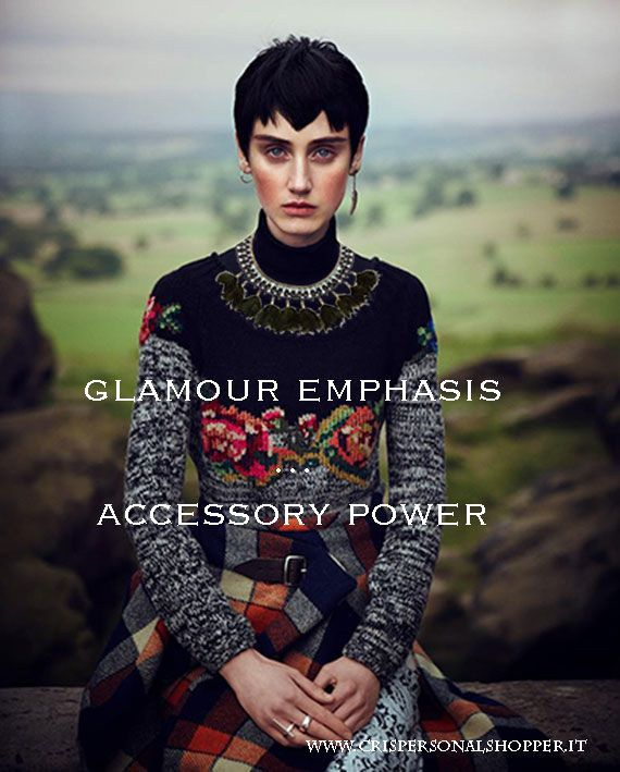 glamour emphasis…accessory power