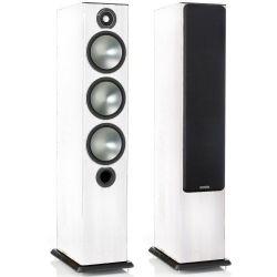 Caixa acústica torre Monitor Audio Bronze 6 Branca (PAR) | Monitor Audio | Áudio | Caixas acústicas | Torres | Som Melhor Áudio High End e Vídeo
