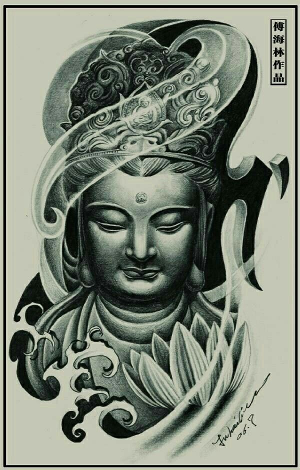 25 best buddha tattoos images on pinterest buda tattoo buddhist tattoos and awesome tattoos. Black Bedroom Furniture Sets. Home Design Ideas