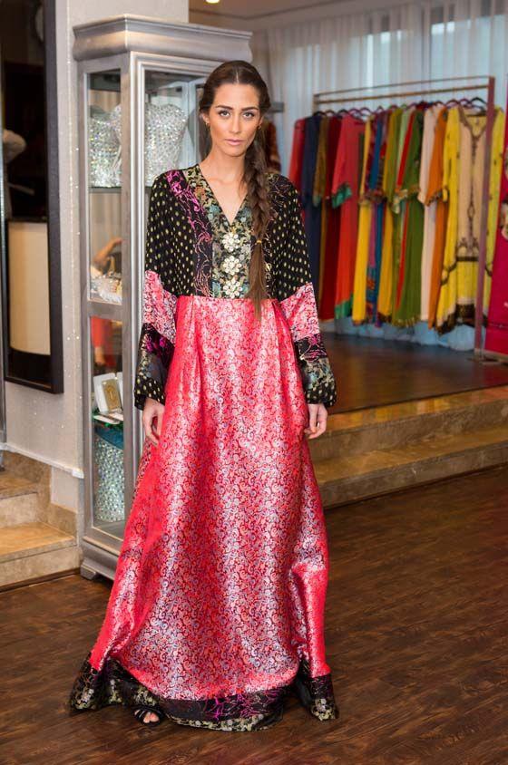 مجموعة رمضان للمصممة سلمى خان.. ملابس بروح الصحراء