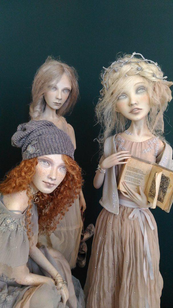 """/annazuevadolls/""""Light frosts.Ljuba,Nadja,Vera"""""""