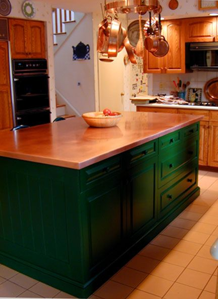 Copper Countertops on Pinterest  Cherries, Copper and Copper kitchen