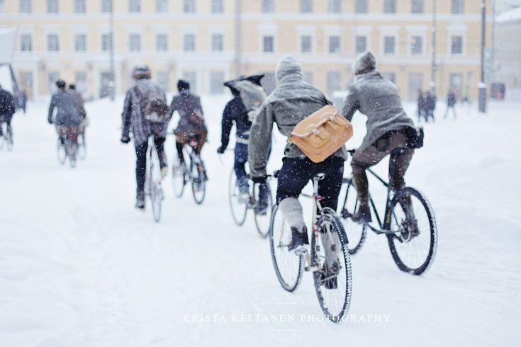 Winter Tweed Run Helsinki 2012, (-24 degrees celsius )