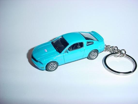3d Ford Mustang Gt Custom Keychain By Brian Thornton Keyring Key