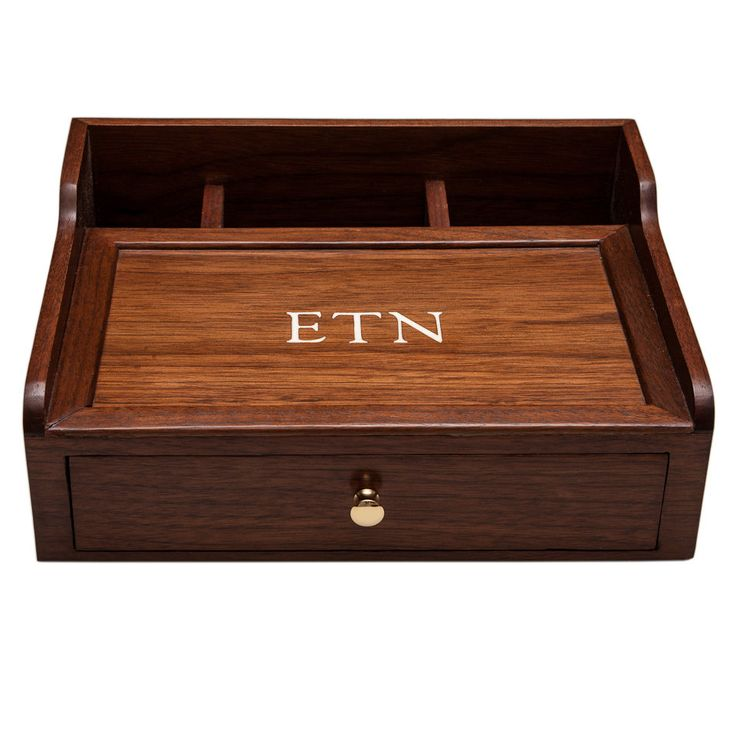 desk box dresser box mens valet desk organizer walnut wood custom item the o 39 jays love the. Black Bedroom Furniture Sets. Home Design Ideas