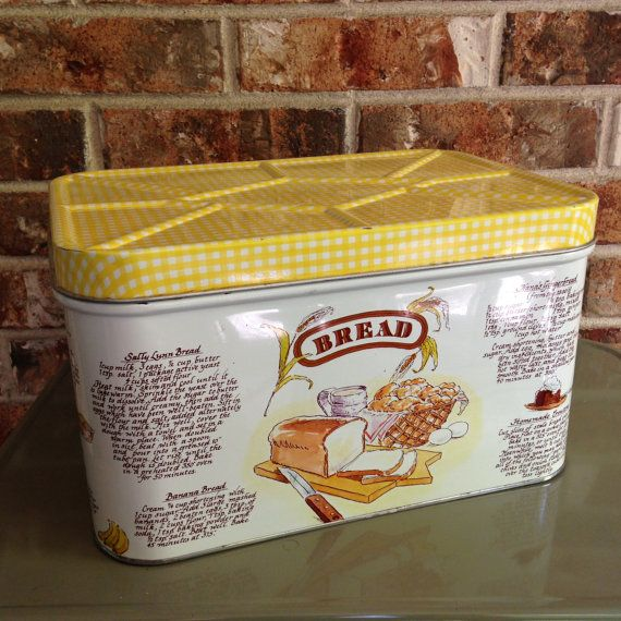 Country Kitchen Bread: 1000+ Images About BREAD BOX (VINTAGE) On Pinterest