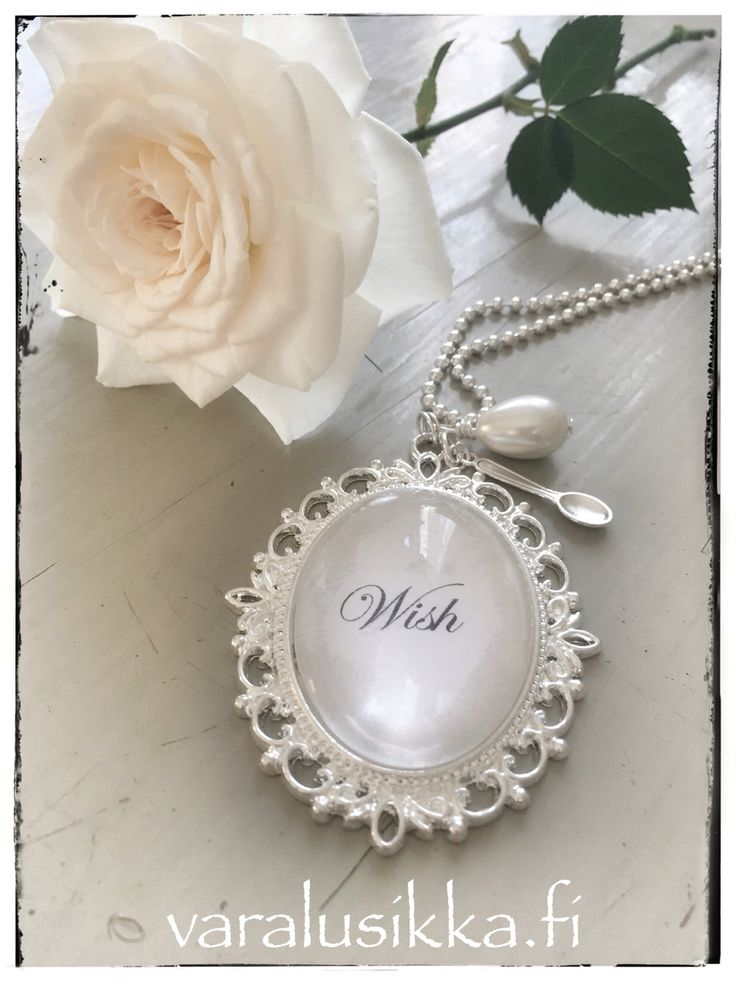Wish for you! Hand made spoon jewelry on www.varalusikka.fi