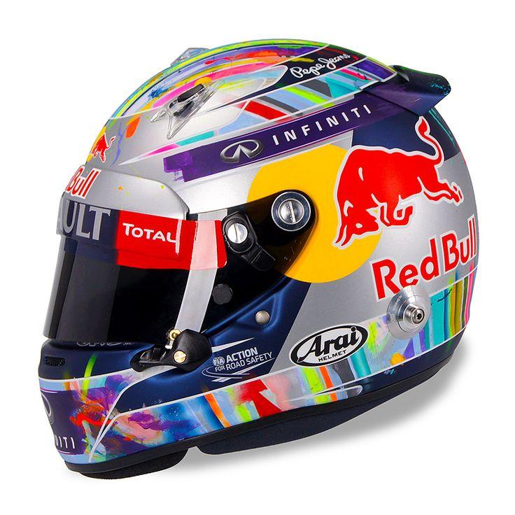 Vettel China Crayon helmet 2014