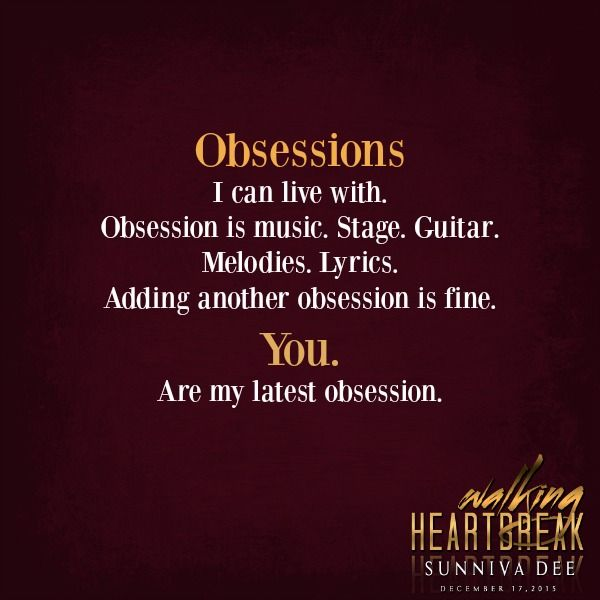 WH Obsession is music