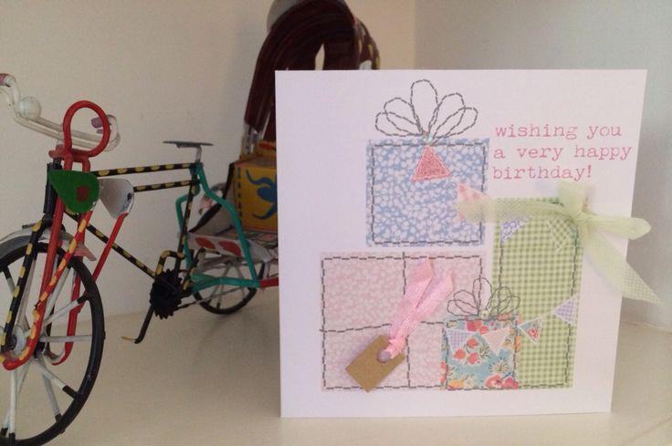 Birthday presents card @ etsy shop thingsilove.me