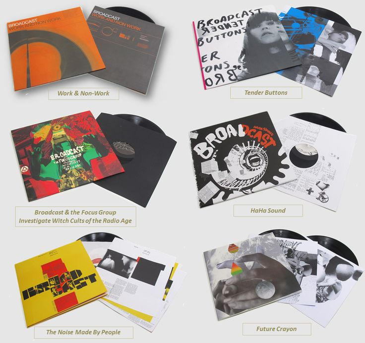 Broadcast's vinyl catalog getting repressed by Warp Records in March!