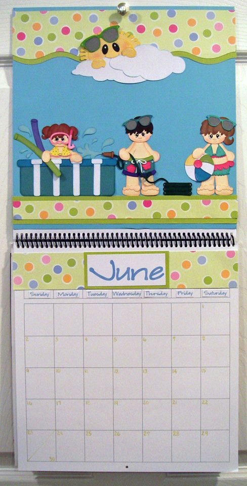 June Calendar Picture Ideas : Best images about calendarios on pinterest crafts