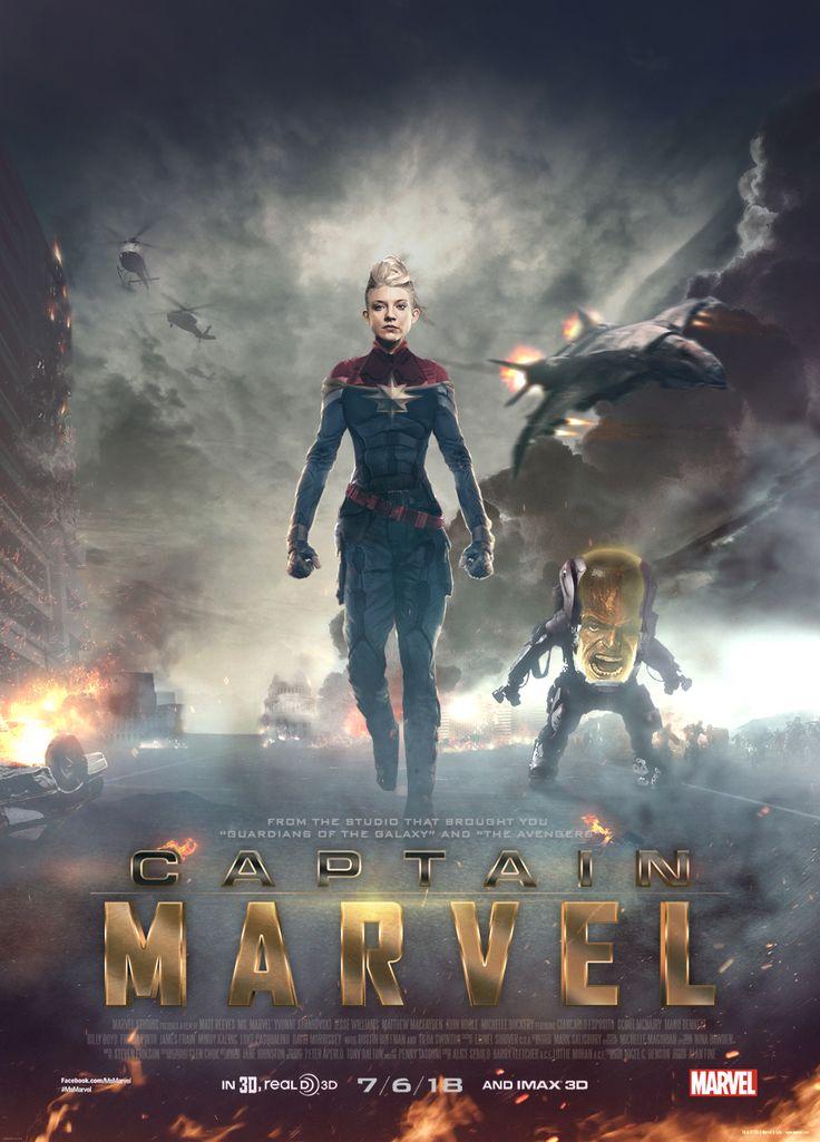 captain marvel fan made movie poster geek. Black Bedroom Furniture Sets. Home Design Ideas