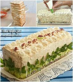 Pasta Şeklinde Salata Tarifi
