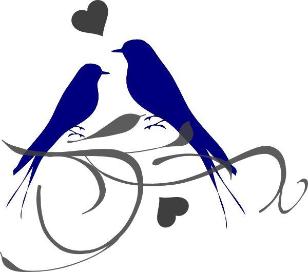 Birds Clip Art Wedding Shower Ideas Pinterest Love