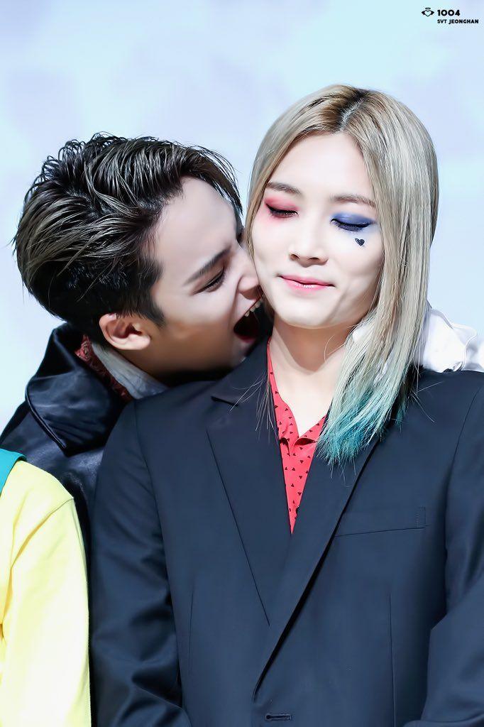 Mingyu & Jeonghan<help im down