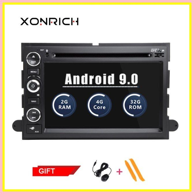 Top Autoradio 2 Din Android Car Multimedia Player For Ford F150 Mustang Expedition Explorer Fusion 2006 2007 2009 Stereo Gp Cheap Car Audio Car Audio Car Radio