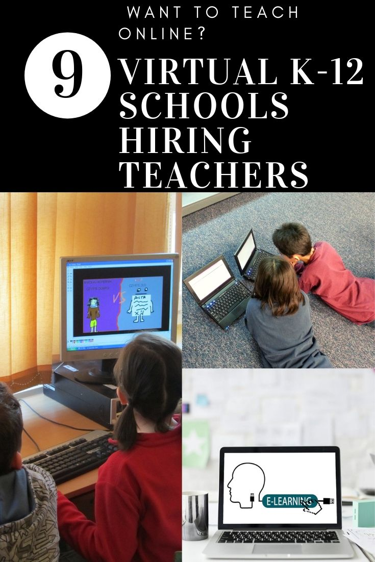Do You Want To Teach Online Check Out These Online Schools Online Teaching Online School Virtual School