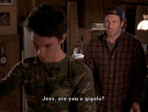 "On his nephew, Jess: | 21 Of Luke Danes' Best Lines On ""Gilmore Girls"""