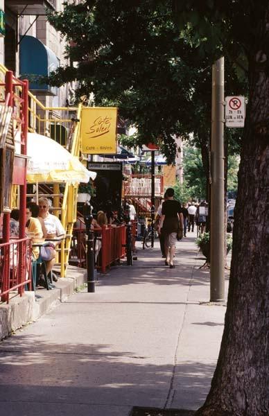 Latin Quarter in Montreal