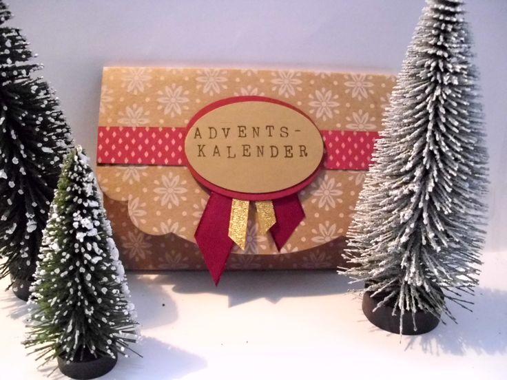 """Wunderhübsche Idee mit dem neuen Weihnachtspapier """"Unterm Christbaum"""". Perfekt für kleine Überraschungen."""