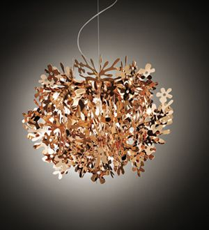 #Slamp #Fiorella Gold, Silver and #Copper - #Suspension Lamp
