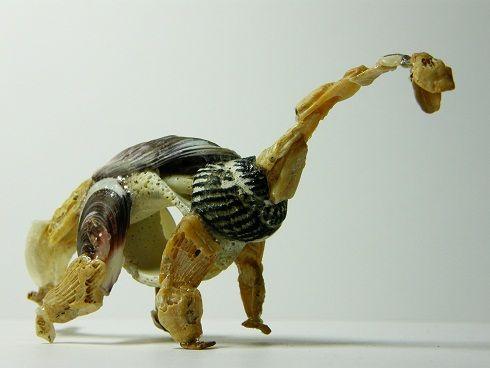 Shell Craft on Seashell Animal Craft Idea For Kids