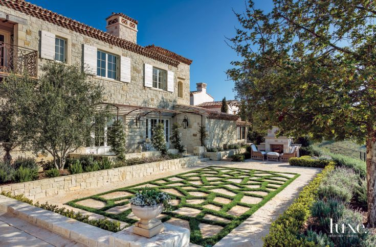 A Traditional Irvine Abode with Authentic Rustic-French Style