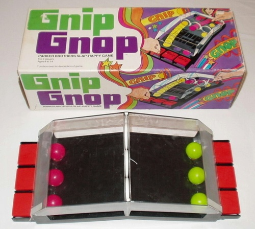 1971 PARKER BROTHERS GNIP GNOP BOARD GAME