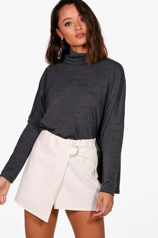 Lola Oversized Roll Neck Top  71b4fd9e1