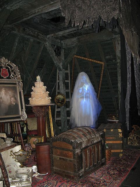 Batavia Bellamorte Haunted Mansion Bride Halloween
