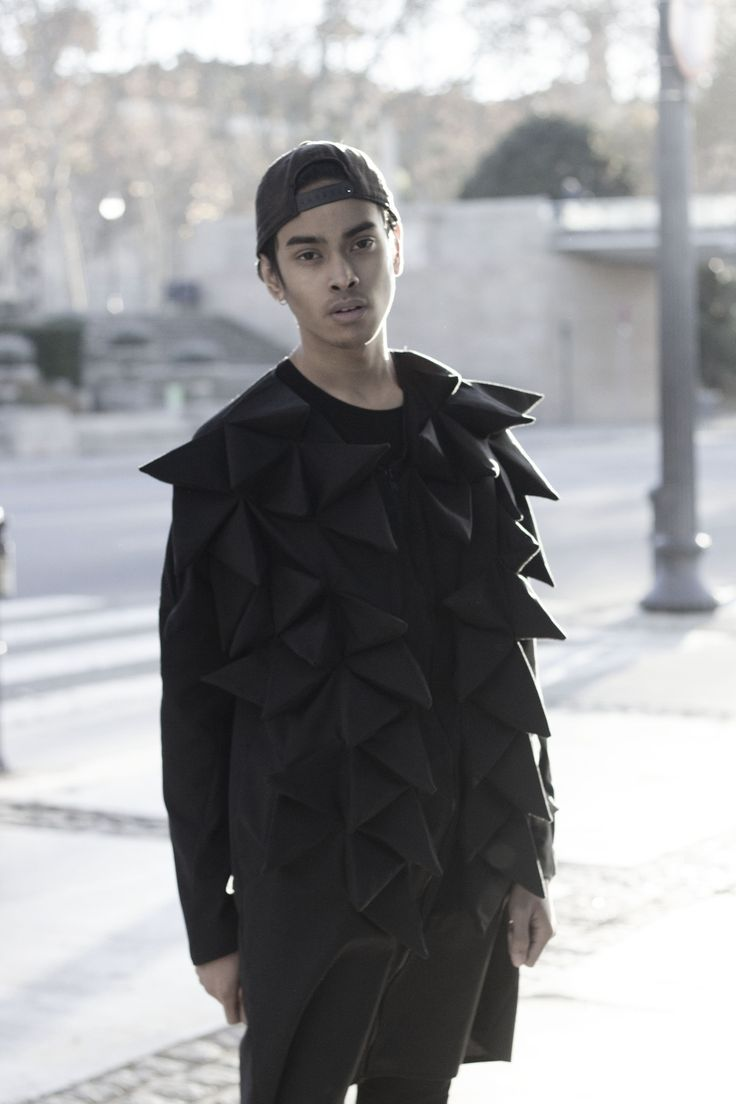 3D jacket by Sandra Miralles