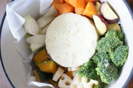 味噌カマンベールフォンデュでいただく秋野菜サラダ by もりもん | レシピサイト「Nadia | ナディア」プロの料理を無料で検索