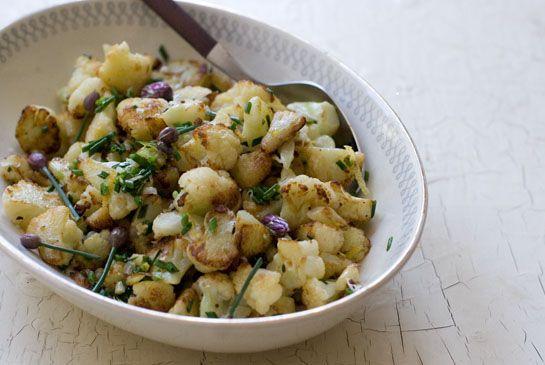 Cauliflower: Fun Recipes, Simple Cauliflower, Garlic, Lemon Zest, Cauliflowers, Cauliflower Recipes, Parmesan, Favorite Recipes, Green Onions