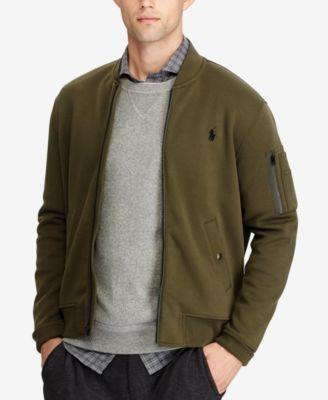 Polo Ralph Lauren Men's Double-Knit Bomber Jacket