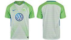 Camisas do Wolfsburg 2017-2018 Nike | Mantos do Futebol Camisas de Futebol
