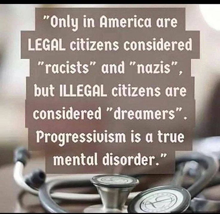 we don't call children racists and nazis. Progressivism is hope, the providence of dreaming.