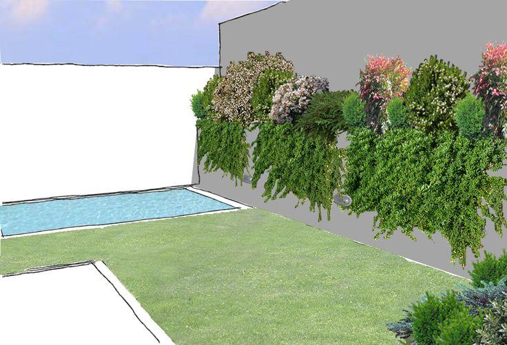 Vista proyecto Jardín - La Florida, Santiago