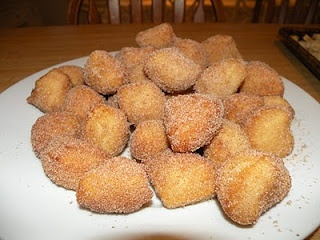 Fast and Easy Donut Holes  These are the fastest and easiest donut holes to make!