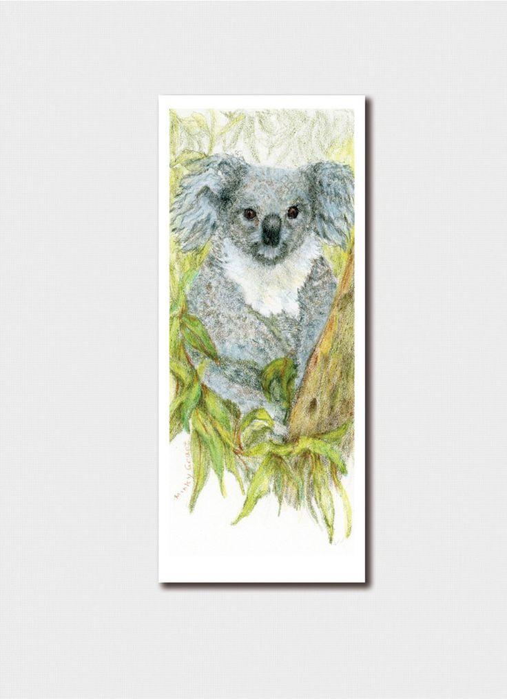 Minky Grant Bookmark - Koala