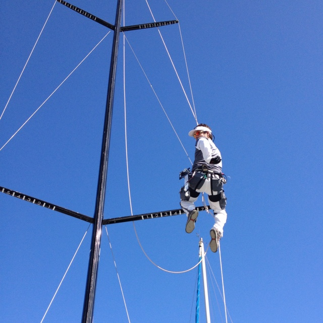 Rigging en yate Squalo Bianco