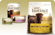 BEST DOG FOOD EVER!! _NATURE'S VARIETY INSTINCT_ especially for dogs with allergies...Changed my dogs life...allergies pretty much gone!!!