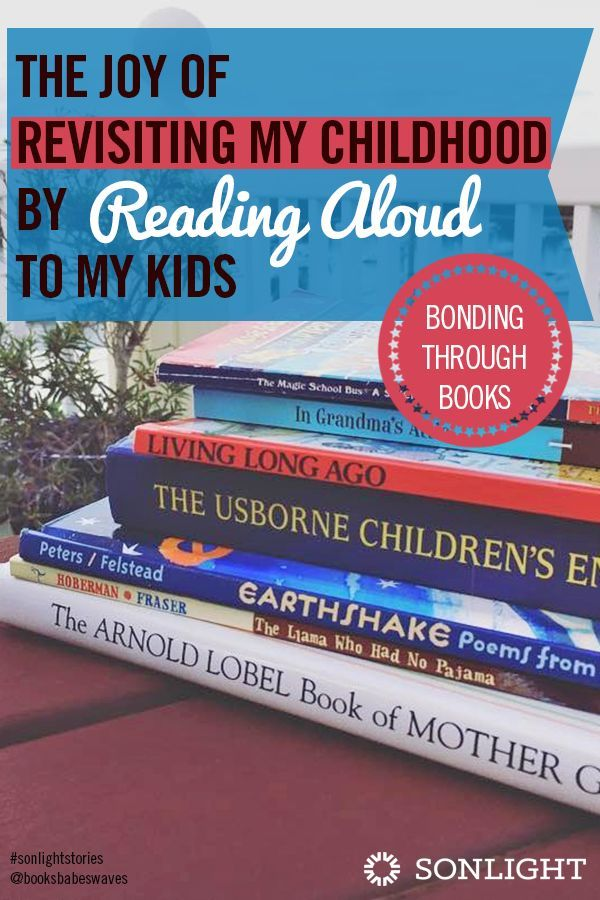 The Joy of Revisiting My Childhood by Reading Aloud to My Kids | family reading | #homeschooling | #parenting | literacy